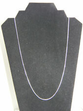 925 Sterling Silver Snake Chain Necklace 1.2mm width Choose your Length