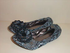 KATHY VAN ZEELAND NEW BEADED FLOWER BALLERINA FLATS PICK SIZE&COLOR 9.5 ,8, 11