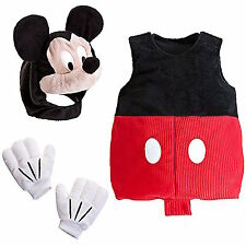 Disney Store MICKEY MOUSE Club house Delux PLUSH 2-PIECE COSTUME - all sizes