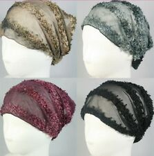 KNIT HEADBAND HEADWRAP BANDANA ELASTIC HEADWEAR STRETCH HAIR ACCESSORY WIG HAT