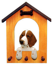 Welsh Springer Spaniel Dog House Leash Holder. In Home Decor Wood Products-Gifts