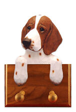 Welsh Springer Spaniel Dog Topper Leash Holder. In Home Wall Decor Products.