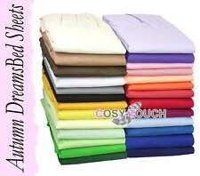 Autumn Dreams 3pc Duvet Quilt Cover and Pillow Cases Set - Made in UK