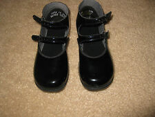 BLACK PATENT Double Strap MARY JANE SHOES Girls Infant and Toddler  NEW IN BOX