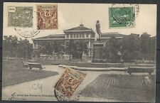 Indochine covers 1901 frontside franked PPC