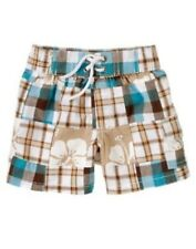 GYMBOREE LITTLE SURFER DUDE PATCHWORK SHORTS 3 3 6 12 18 NWT