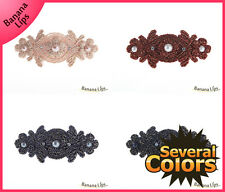 UNIQUE CUTE GIRLS PEARL POINT HAIR CLIP PIN BOW ACCESSORY HAIRCLIP 6 COLORS
