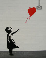 BANKSY Wall Art Vinyl Sticker decal  BALLOON ONLY