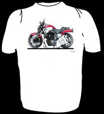 KOOLART HEAVYWEIGHT TSHIRT - YAMAHA VMAX - RED - KIDS TO XXXL