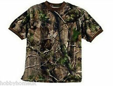 Realtree apg hd camo camouflage t-shirt à manches courtes taille choisir de pêche chasse