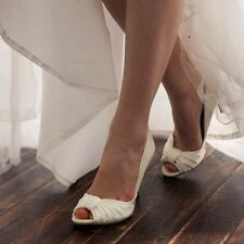 Wedding Bridal Heel Shoes Women High Heel Dress Shoes No.9035 (made in Korea)