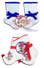 Korean traditional SOCKS BUSUN Hanbok flower 12~24month toddler girl boy baby