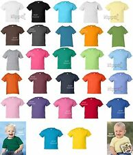 Rabbit Skins Infant Short Sleeve Cotton T-Shirt 3401 6M 12M 18M 24M NEW