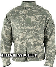 US Military COMBAT SHIRT / COAT  ACU Digital Camo 50/50 Ripstop Army USGI NWT