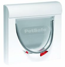 STAYWELL 932 WHITE MAGNETIC CAT FLAP DOOR  KEY COLLAR