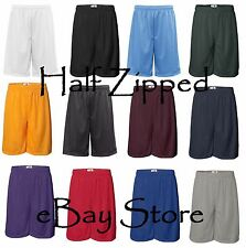 Badger 11'' Inseam Pro Mesh Shorts 7211 S-5XL Polyester with liner NEW Dri Fit