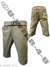 MENS FASHION SMITH & JONES CHINSO CHINO SHORTS. SIZE 28-38. CAMEL. ONLY 17.99!!