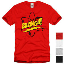 BAZINGA! The Big Bang Theory T-Shirt Sheldon TV Serie Fan S M L XXL XXXL Comic