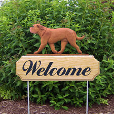 Dogue de Bordeaux Welcome Sign Stake. Home,Yard & Garden Dog Wood Products-Gifts