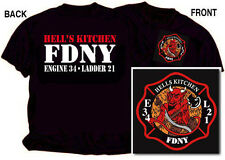 FDNY Hells Kitchen T-shirt (Officially Licensed) - NYC Firestore