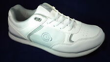 Mens/Ladies Bowling Shoes Leather Flat Soles Laced Outdoor/Indoor Size 3 to 12