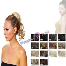 Hairpiece synthetic Ponytail Hair extension Curls curly Hair piece Palm claw