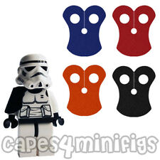 Lego Starwars CUSTOM Pauldron capes x 4 - Choose colours.  NO Minifigs included.