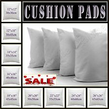 "Cushion Pad Inner Hollow Fiber Inserts Filler 14"",16"",18"", 20"", 22"", 24"", 26"""