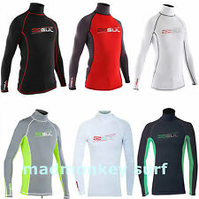 GUL XOLA MEN LONG SLEEVE RASH VEST RASH GUARD diving jetski bodyboard sailing