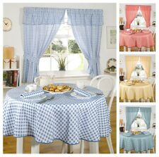 Molly Gingham Check Kitchen Linen in 4 Colours, Tablecloths & Curtains