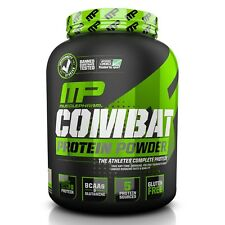 MusclePharm COMBAT POWDER Time Released Protein BCAA Glutamine 4 lbs