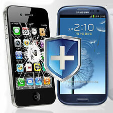 SAMSUNG Galaxy S3 BULLETPROOF Tempered GLASS Screen Protector Color SKIN Cover