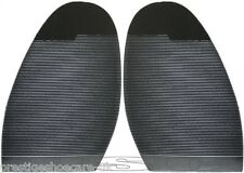 Ribbed Stick On Soles/DIY Shoe Repair/Black/Mens/Ladies/Extra Grip/Free Postage!