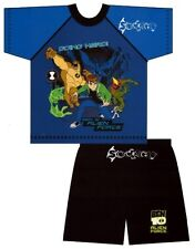 Boys Ben 10 Alien Force Short Pyjamas Ages 3-10 Years Shortie Swampfire