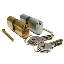 Oval Profile Cylinder Lock | Ideal for UPVC/Wood/Ali Doors etc. Various Sizes