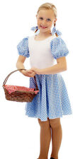WIZARD OF OZ Budget Dorothy Fancy Dress Costume  ALL AGES LARGE SIZES Code 01