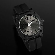New INFILTRATOR Police Mens Sport Quartz Analog Army MILITARY Watch Rubber Strap