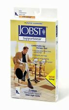 Jobst For Men 8-15 mmHg Knee High Compression Socks, Ribbed, Therapeutic Support