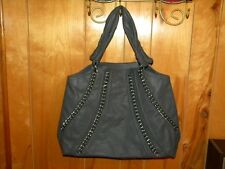 Avon Mark mark Chain Link Tote Hand Bag Purse Brown or Grey You Choose New Item