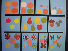 Your Choice of Fall Autumn Martha Stewart Fiskars Paper Die Cut Punches pumpkin
