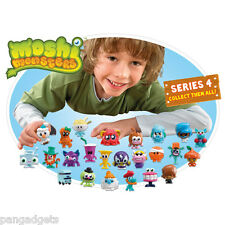 Moshi Monsters Figures Moshlings Series 4 Common and Ultra Rare + Free Card