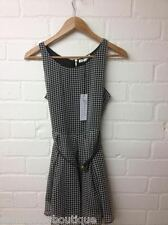 Womens Black/White Dogtooth Tunic dress by 'Glamorous' 'In Trend'!!! RRP £29.99
