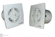 SA100 Timer Humidistat Standard Models Toilet Extractor Bathroom Fan LOW PROFILE