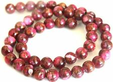 Magical Red Crazy Lace Agate Gemstone Round Loose Bead 15''4mm 6mm 8mm 10mm 12mm