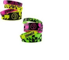 Zumba VIBE RUBBER BRACELETS ~ Lots of Vibrant Neon Colors NEW~ Sold Individually