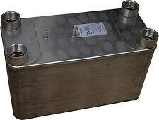 B3-115A 120 Plate Stainless Steel Heat Exchanger Copper Brazed Refrigeration