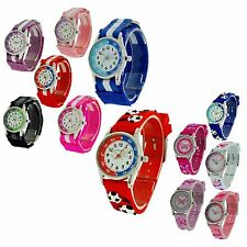 Reflex Childrens Kids Girls Boy Time Teacher Tutor Learning Velcro Buckle Watch