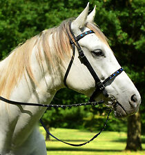 Any Color JEWELED BLING RHINESTONES English BRIDLE & REINS Beta Biothane