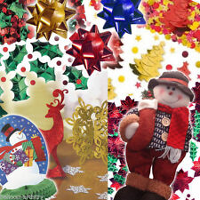 Christmas Confetti Sprinkles Bows Table Decorations All In One Listing PA