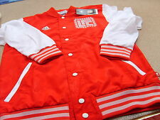 Official adidas Men's Liverpool Varsity Jacket Red/White, Size: Small